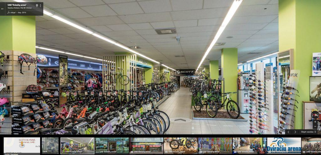 dviraciu-arena-google-street-view-verslo-panorama