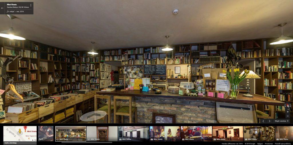 Google Street View Verslui – prekybos centrai